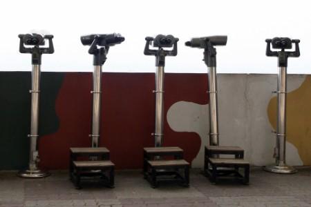 public binocular stands