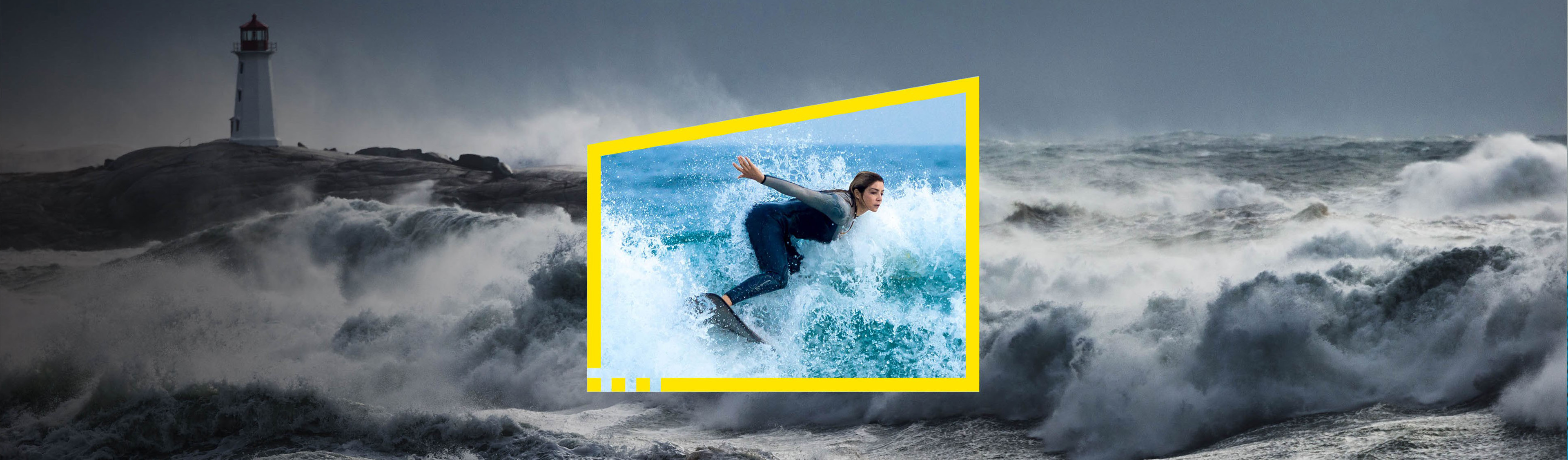 Reframe your future surfer storm
