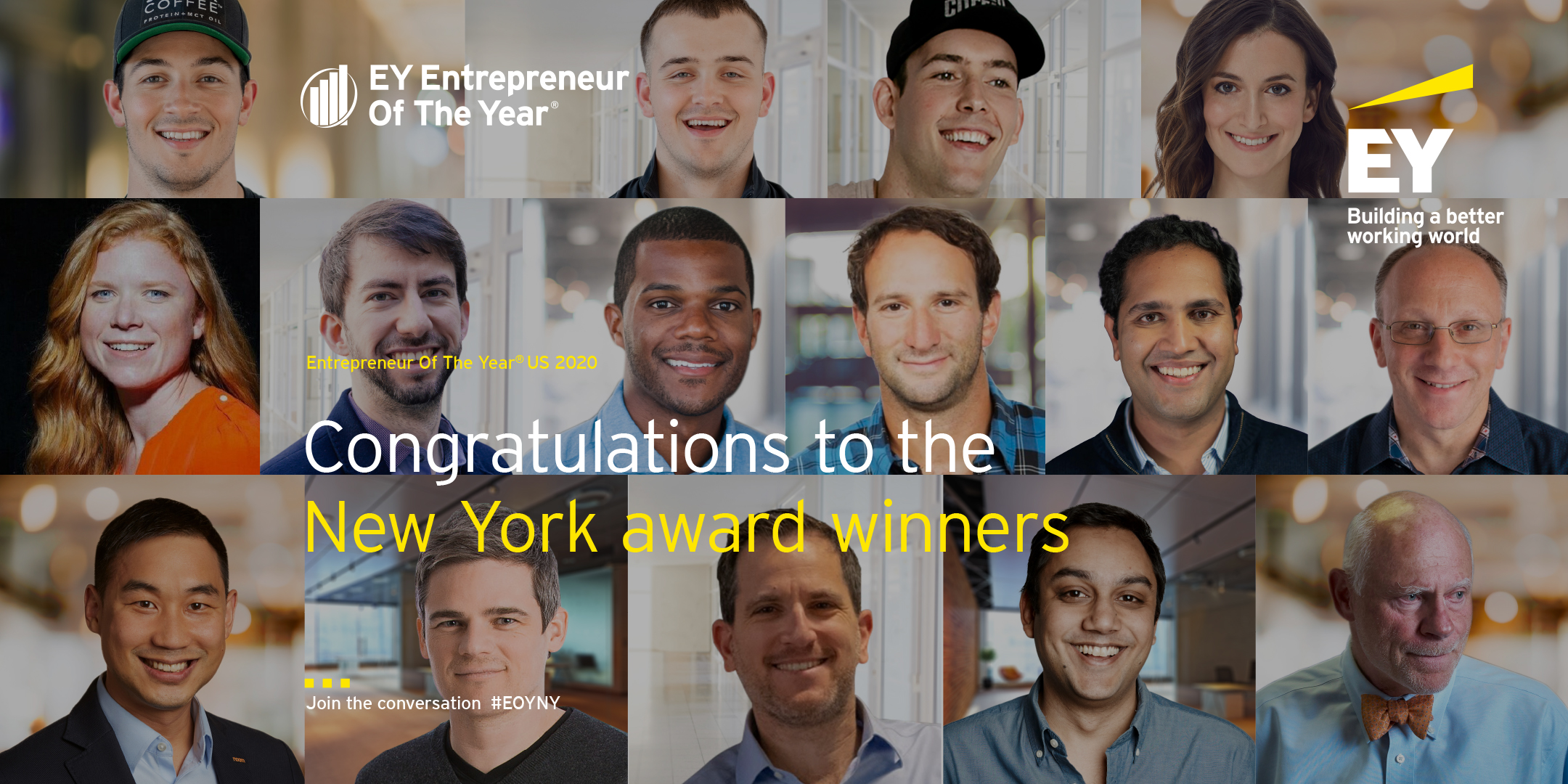 EY - EOY 2020 new york winners collage