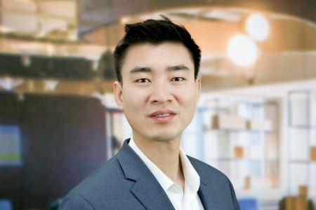 Photographic portrait of  Aaron Oh