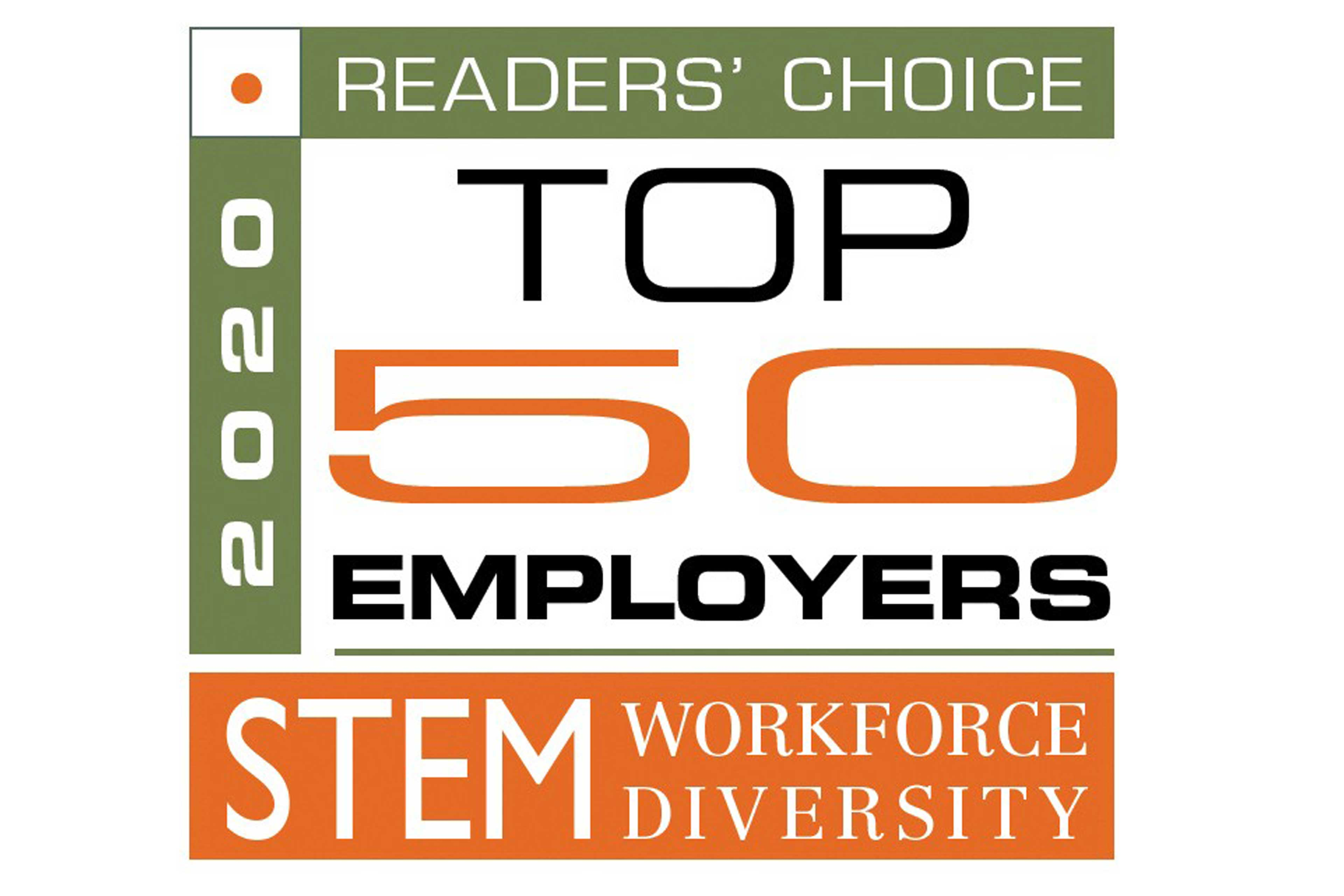 STEM Workforce Diversity 2020 Readers' Choice Top 50 Employers