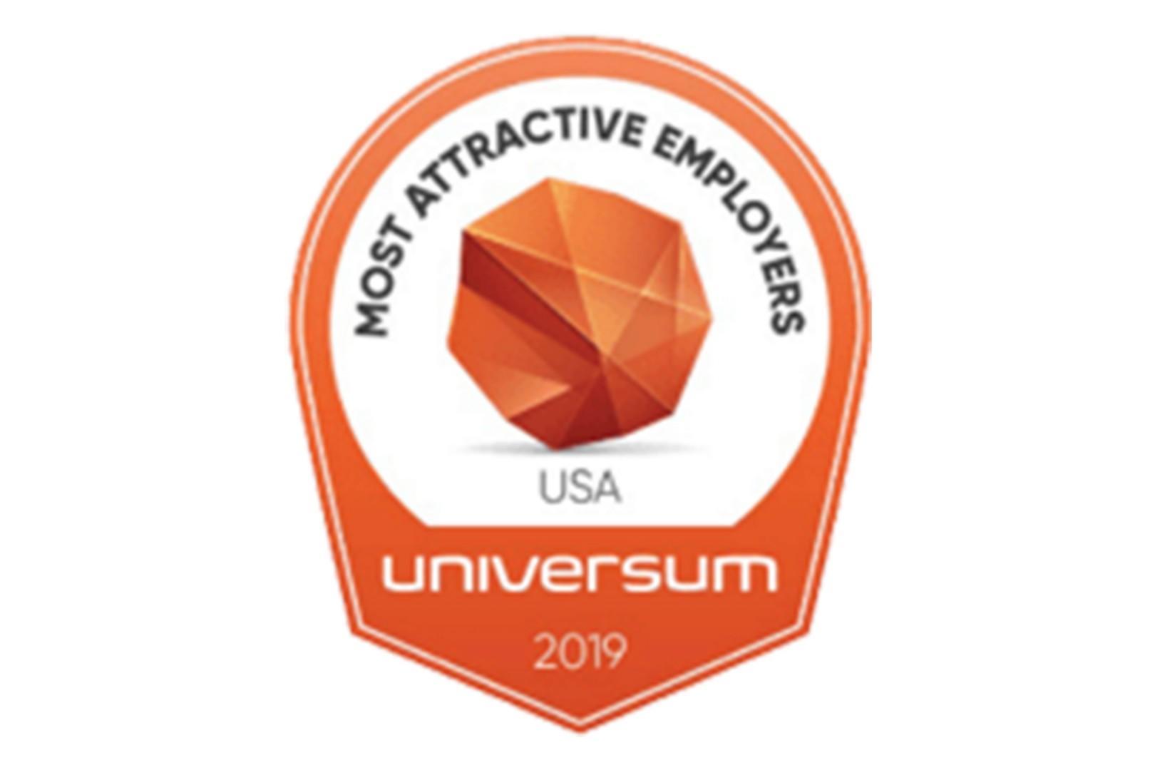 Universum USA's Most Attractive Employers 2019