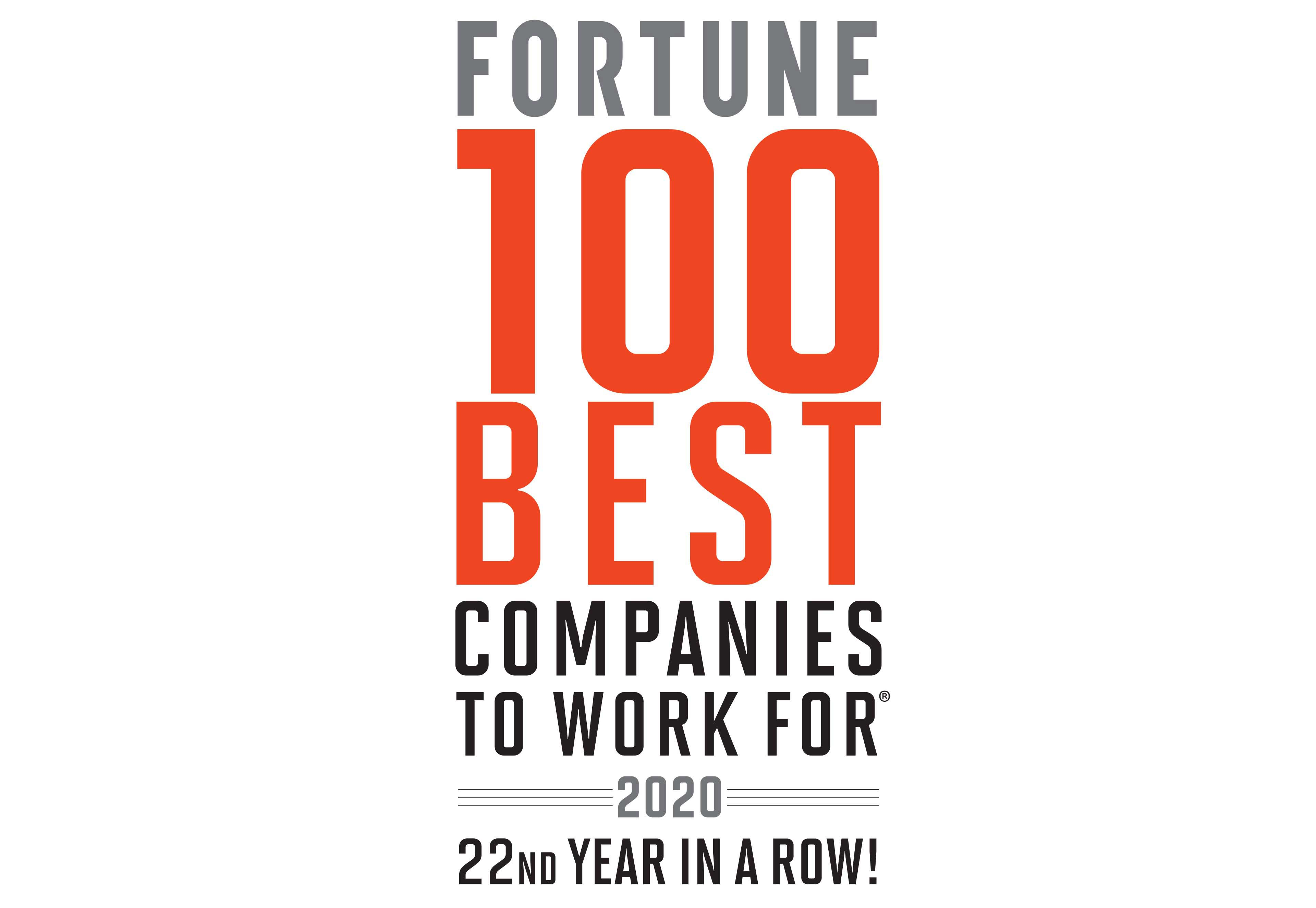 FORTUNE 100 Best Companies to Work For® 2020