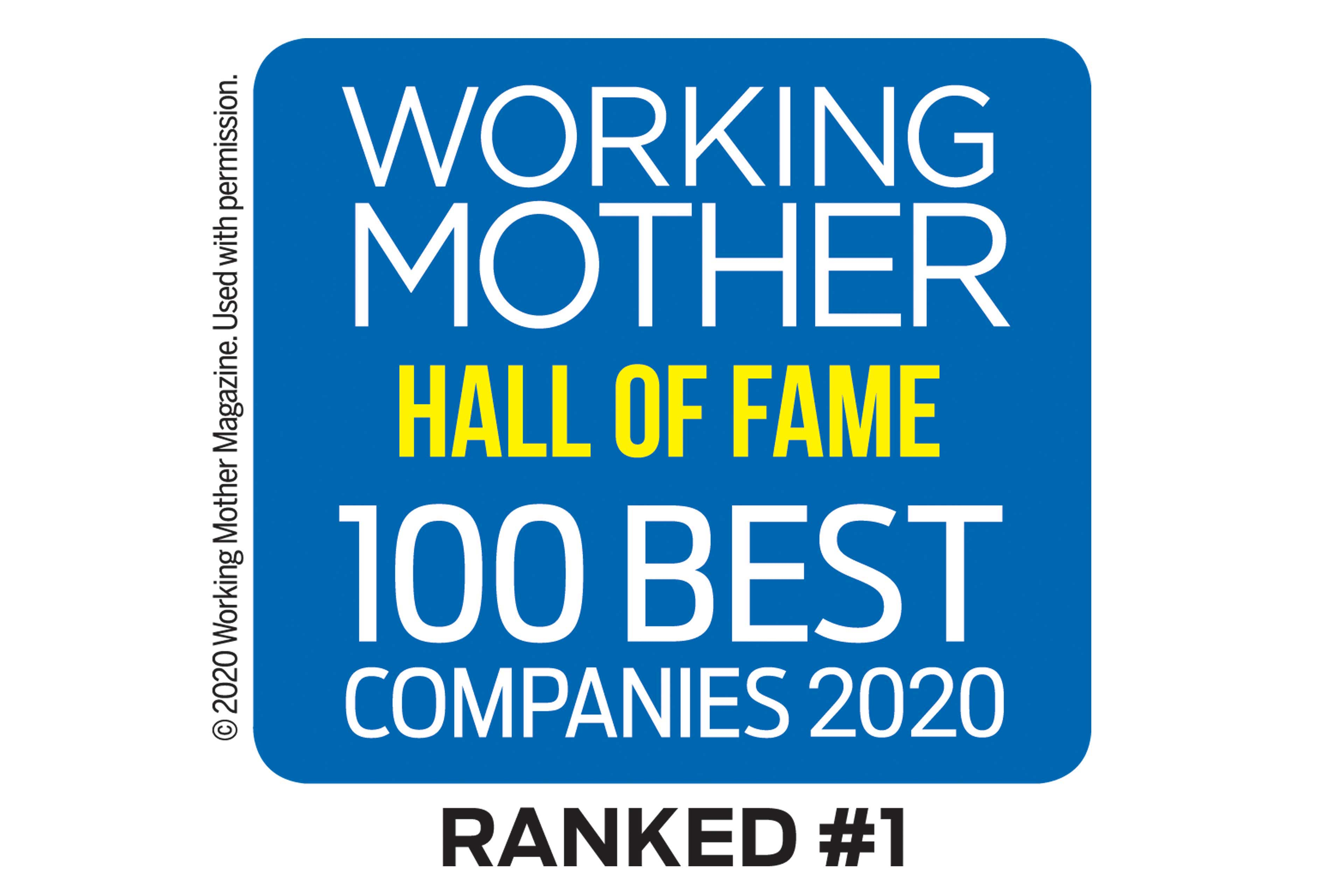 Working Mother 100 Best Companies 2020
