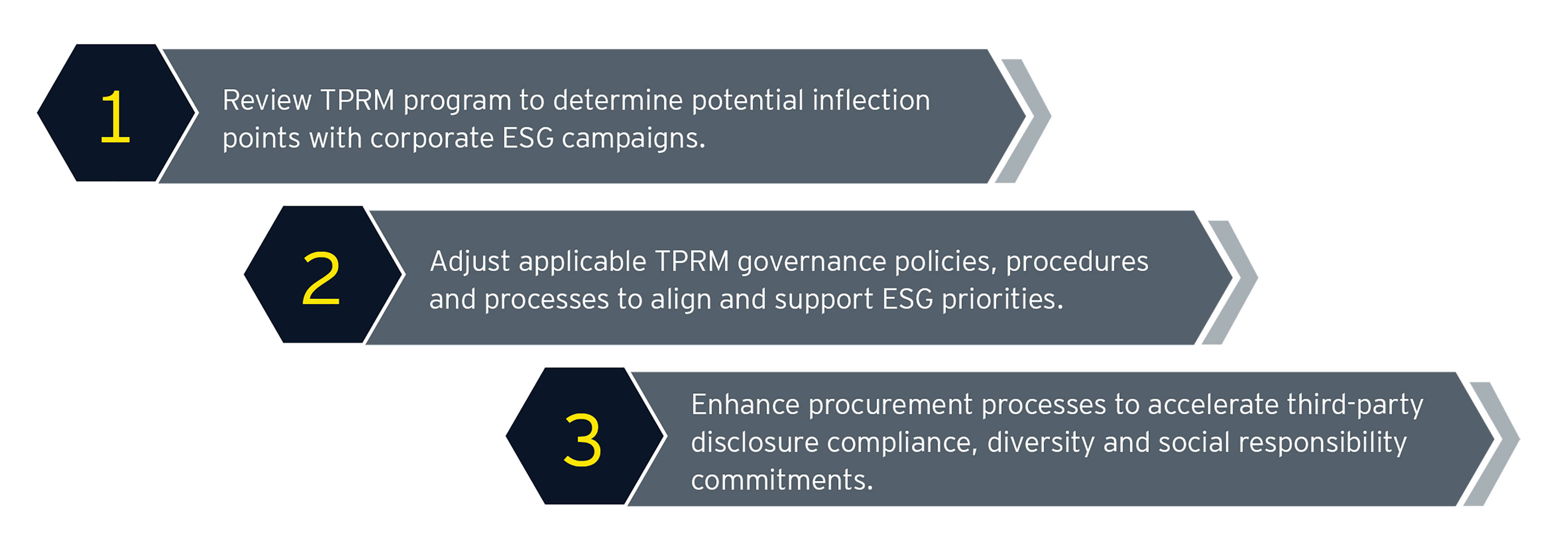 Graphic of TPRM program to facilitate alignment and integration