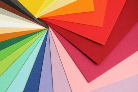 EY - Colored paper