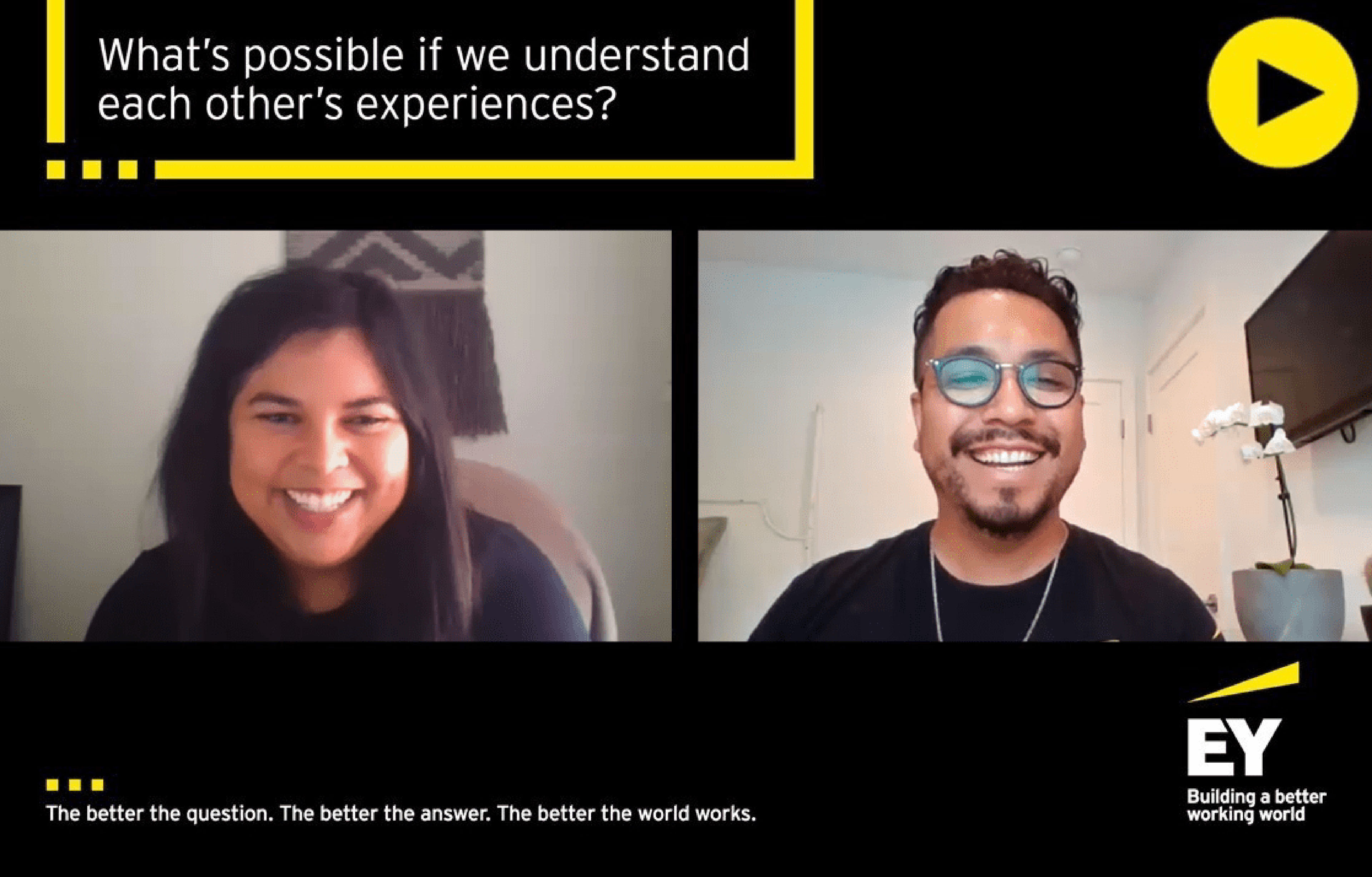 EY - Video Understanding each others experience