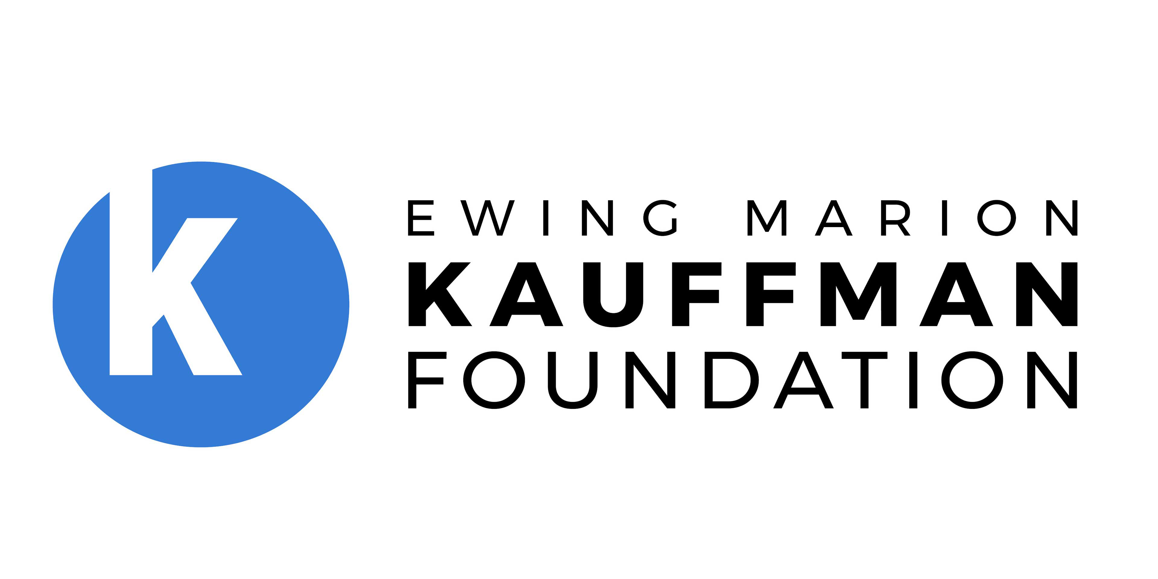 Logo of Kauffman Foundation
