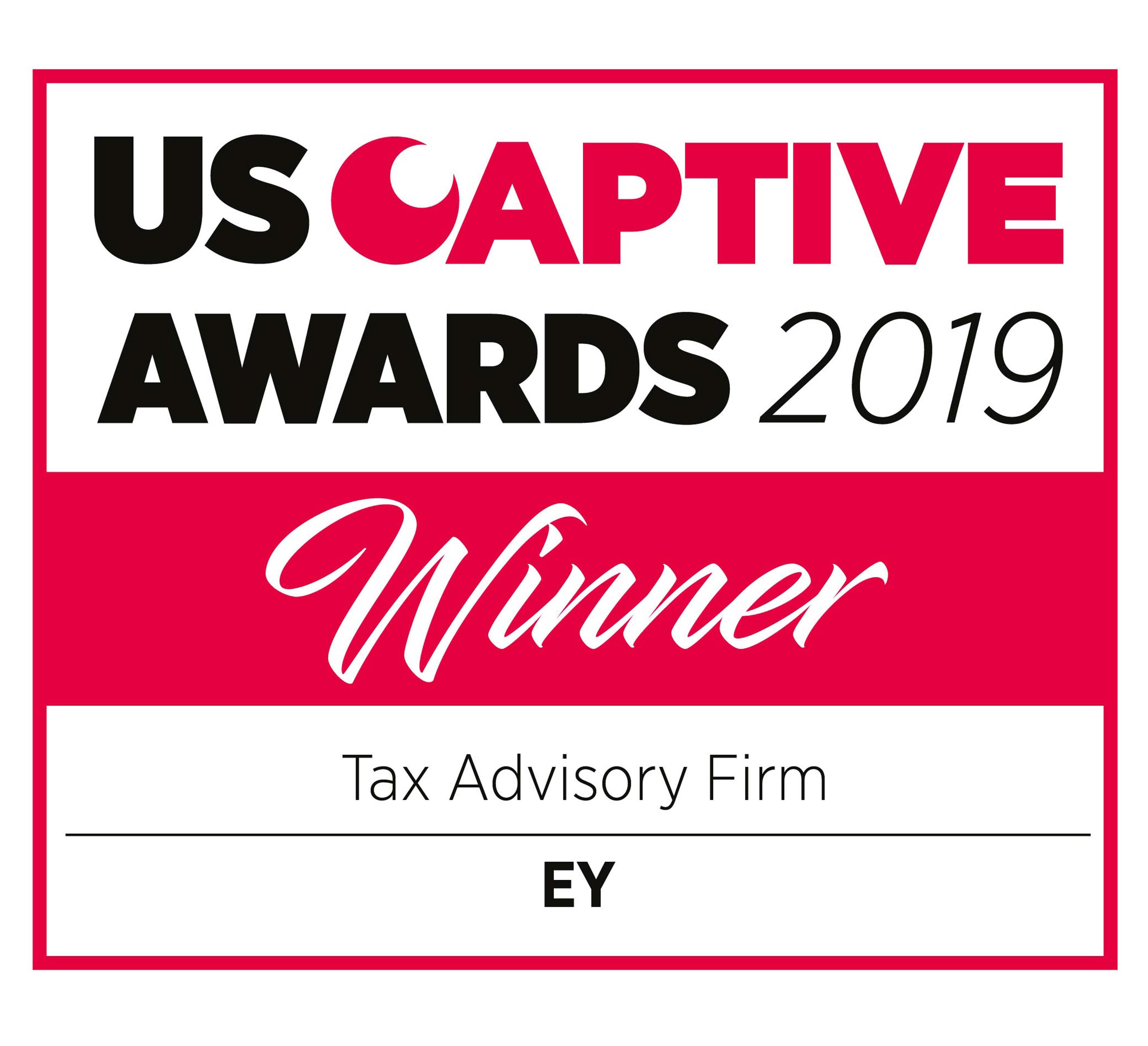 US Captive Awards 2019 Winner Tax Advisory Firm EY