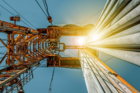 Onshore land oil rig