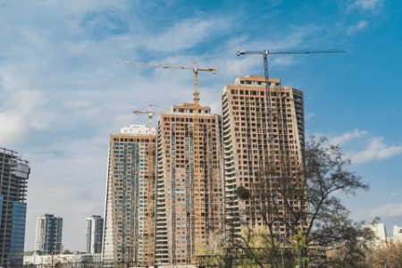 Construction of high rise buildings