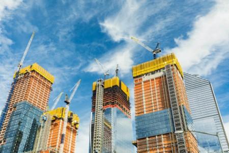 Skyscrapers construction