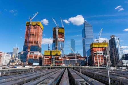 EY - Hudson yards redevelopment project