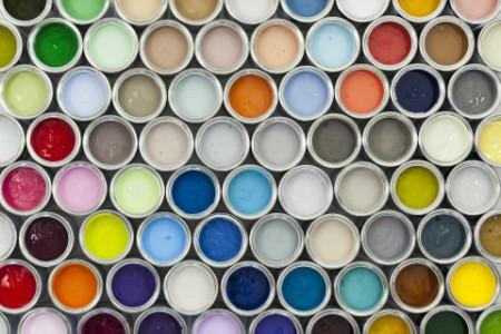 EY - Paint tin samples