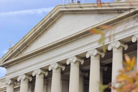 Treasury Building in Washington DC