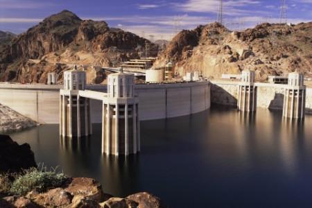 Hoover Dam landscape, Nevada