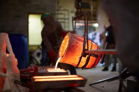 Metal Cast Sculpting