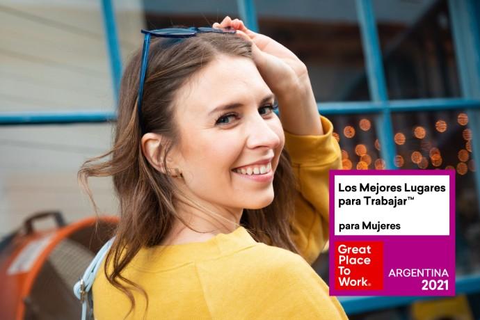 EY obtiene el sexto puesto entre los Mejores Lugares para Trabajar™ para mujeres en Argentina 2021
