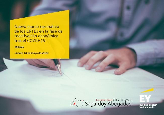 EY y Sagardoy analizan la nueva regulación de los ERTEs: Los 10 aspectos clave a tener en cuenta por las empresas al aplicarla