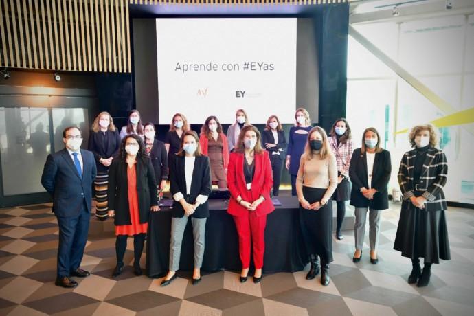 16 mujeres promueven el liderazgo femenino en el programa 'Aprende con #EYas' de EY e International Women's Forum