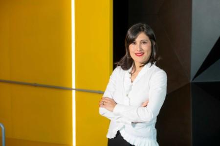 Photographic portrait of Blanca Escribano