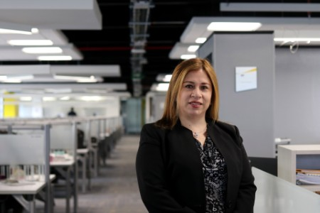 Retrato fotografico de Ángela Jaimes