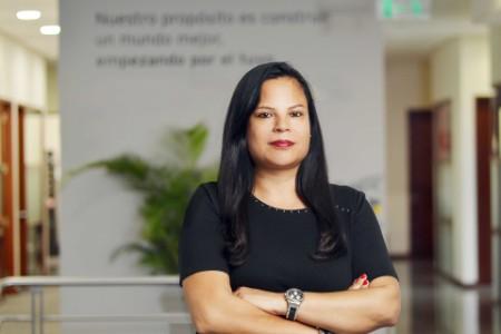 Retrato fotografico de Beatriz de la Vega