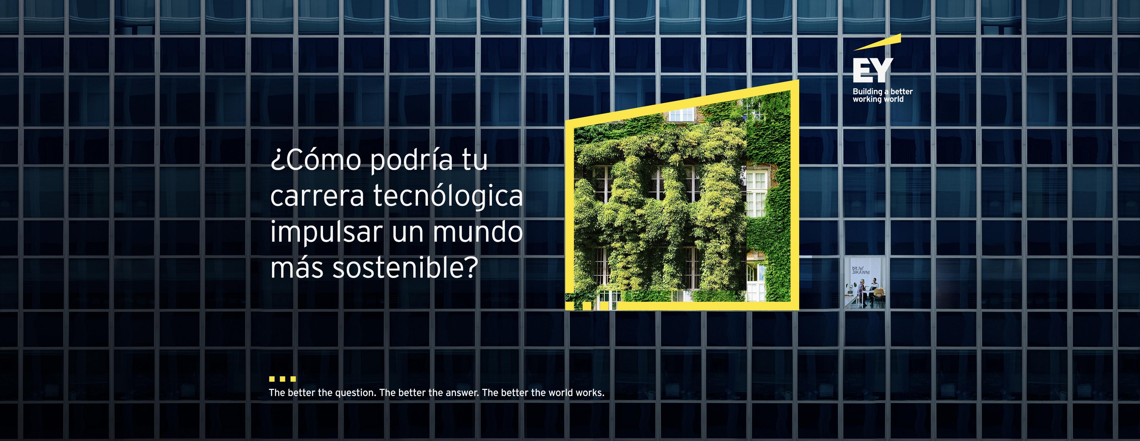 ¿Cómo podría tu carrera tecnológica impulsar un mundo más sostenible?
