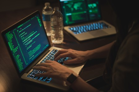 Hacking computer network