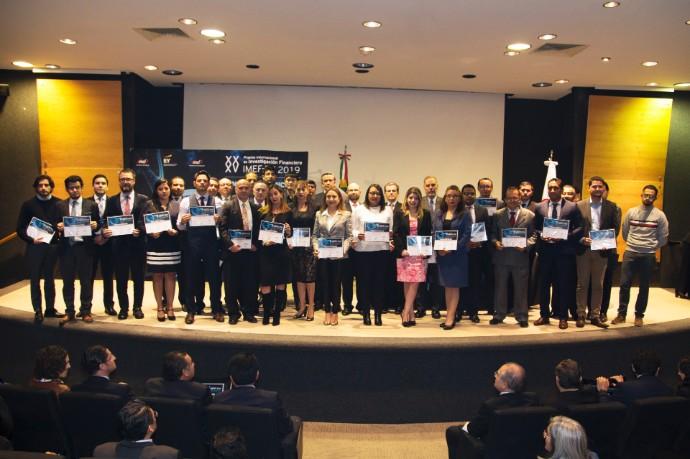 Dan a conocer a los ganadores del XXXV Premio Internacional de Investigación Financiera IMEF - EY