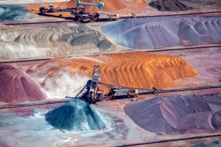 Worksites on mines