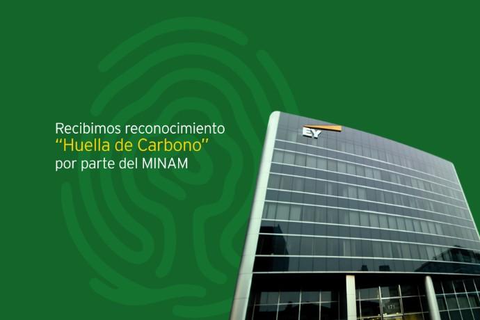 """EY Perú recibe el reconocimiento """"Huella de Carbono Perú"""" del MINAM"""