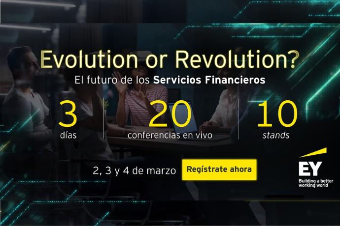 """Foro virtual """"El futuro de los servicios financieros: ¿Evolución o revolución?"""""""