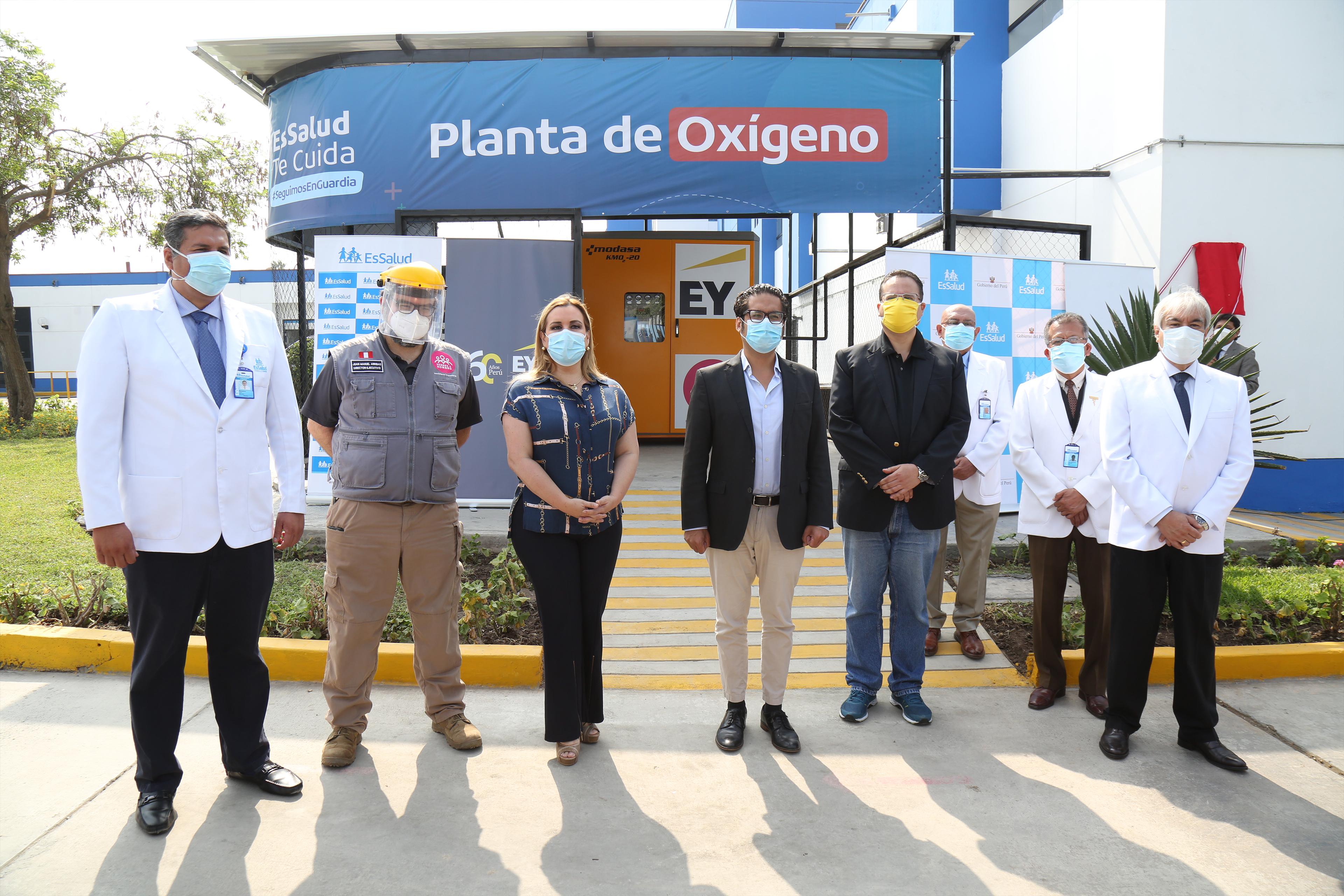 Donación de planta oxigeno