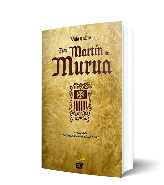 Libro portada fray martin murua