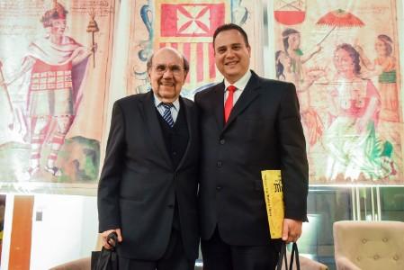 """Presentación del libro: """"Vida y Obra Fray Martín de Murua"""", 2019"""