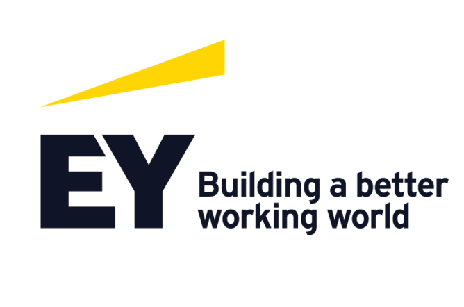ey building a better working world logo