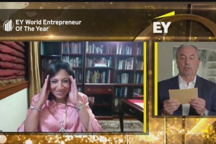Indiske Kiran Mazumdar-Shaw ble World Entrepreneur Of The Year 2020