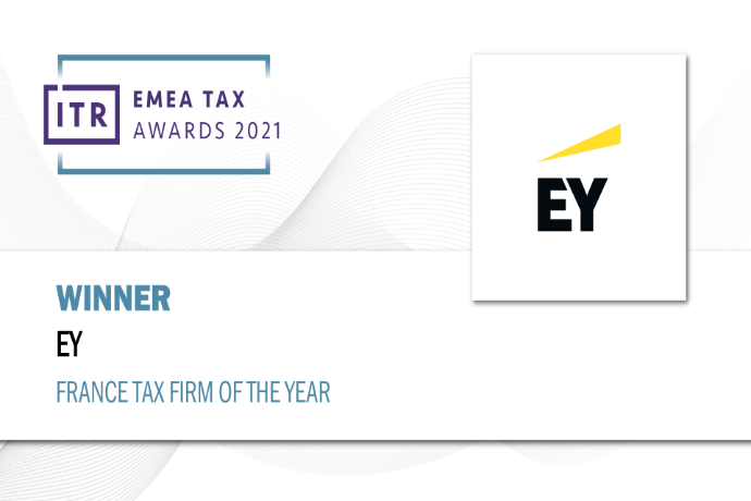 EY Société d'Avocats élu « France Tax Firm of the Year » et « France Transfer Pricing Firm of the Year »