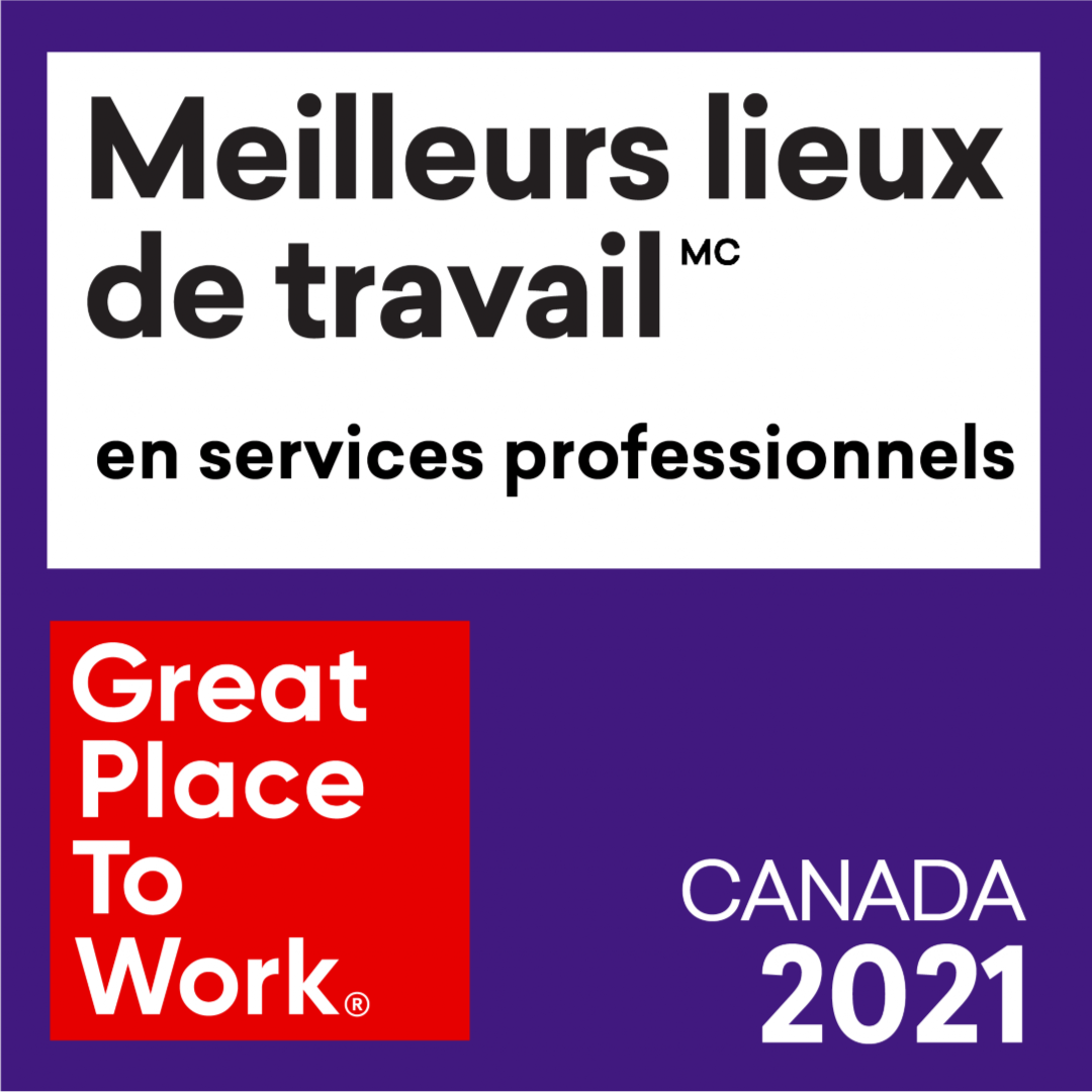 EY – Meilleurs lieux de travail dans les services professionnels
