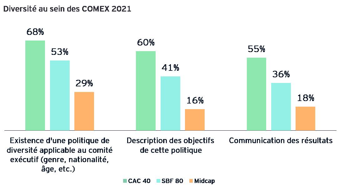 Diversité au sein des COMEX 2021