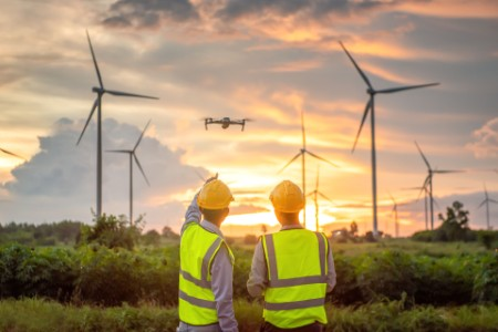 L'inspection par drone – un exemple de digitalisation de la gestion d'actifs