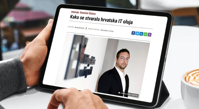 Tomislav Čutura za Jutarnji list