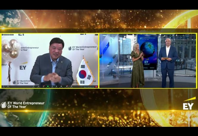 Novi EY Svjetski poduzetnik godine je JungJin SEO iz Južne Koreje, Hrvatsku na izboru predstavljao trojac iz Algebre