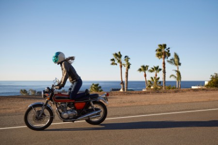 ey women riding bike