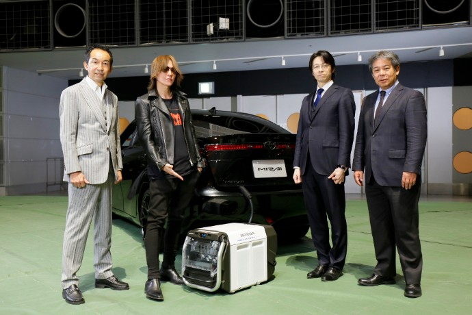 EY Japan accelerates the realization of a low-carbon society The CO2 free hydrogen backed U2 tour in Japan