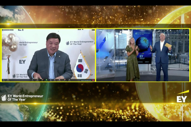2021年世界ナンバーワンのアントレプレナーが決定 韓国のセルトリオン社、徐廷珍(ソ・ジョンジン)氏が「EY World Entrepreneur of the Year™2021」を受賞