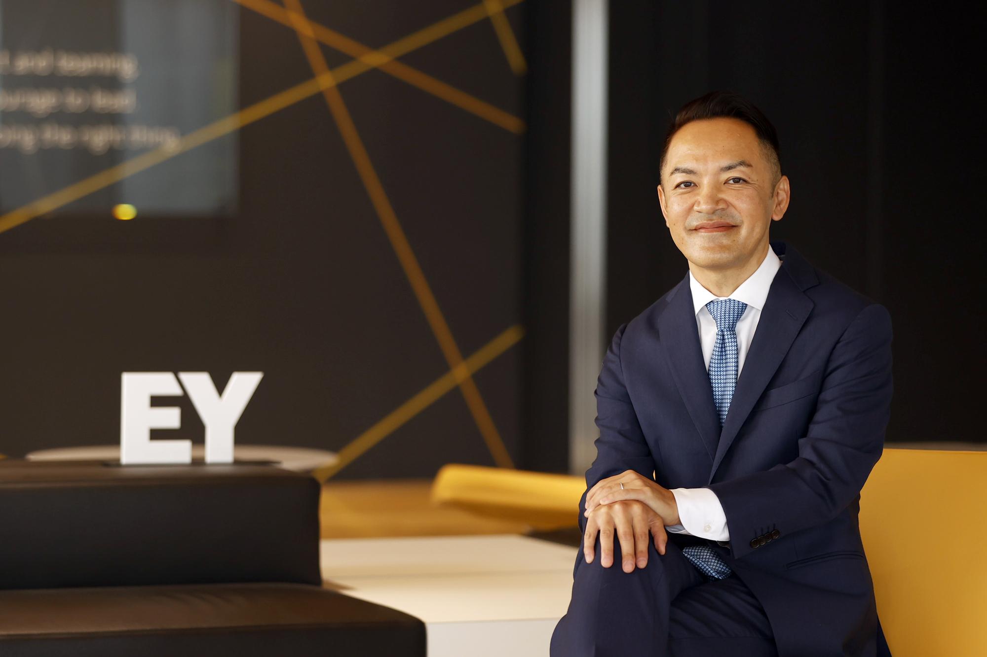 貴田 守亮、EY Japan チェアパーソン兼CEO ジャパン・リージョナル・マネージング・パートナー(RMP)
