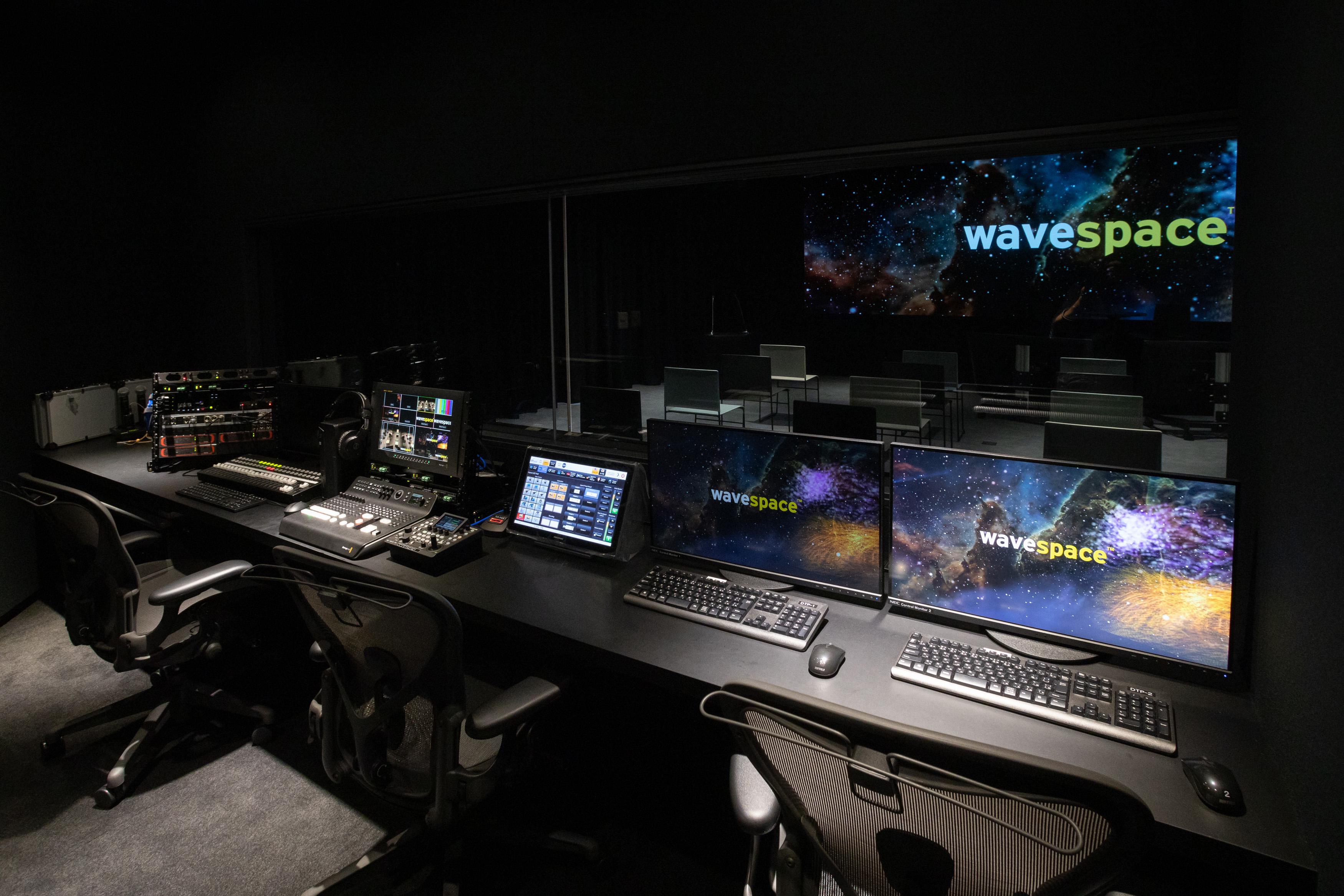 EY wavespace スタジオ