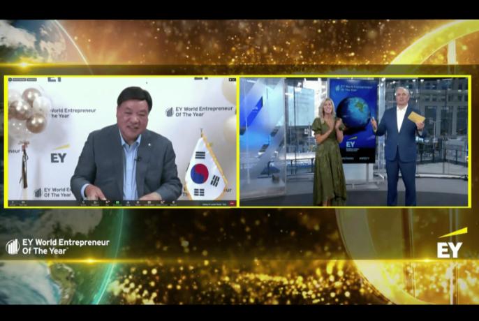 서정진 셀트리온그룹 명예회장, EY 세계 최우수 기업가상 수상